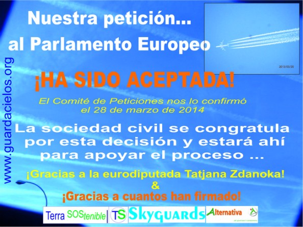 Petición PE admitida