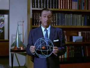 Walt Disney, un firme defensor de la energía atomica