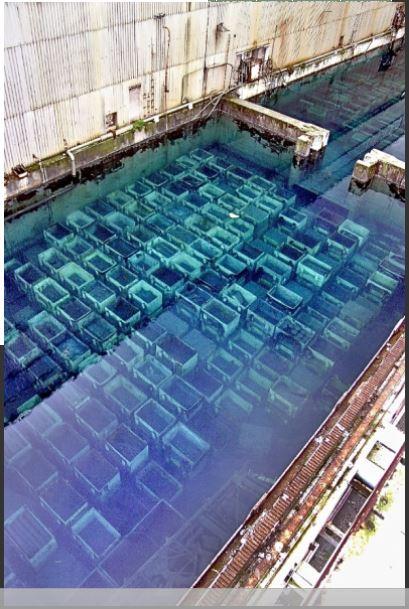Piscina de residuos de Sellafield