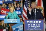 0007 Trump Hillary verde y negro
