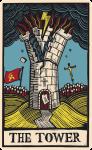 carta tarot torre portada economist 2017