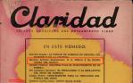 revista claridad HG Wells NWO Lorca