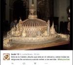 ecumenismo en maqueta del Vaticano