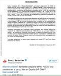 044 adquisición banco popular por Santander por un euro