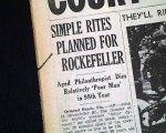 001 funeral Rockefeller