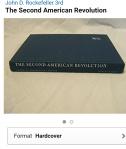 038 John D. Rockefeller The second american revolution second edition book cover 1