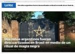 niños descuartizados satanismo estrella 5 puntas