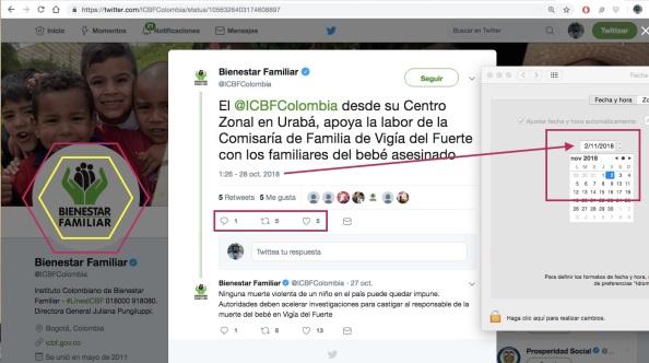 Estamos hablando de una cuenta oficial del gobierno colombiano que  supuestamente tiene la friolera de 286.000 seguidores aunque solo recibe  unos pocos RTs. 504c48325d6
