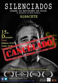 silenciados albacete cancelado