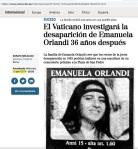 099 noticia investigación Emanuela Orlandi Vaticano