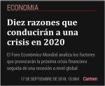 032 crisis economica 2020 coronavirus