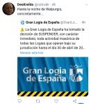 070 noche de Walpurgis gran logia de España