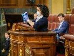 070 señora de la limpieza Congreso de los Diputados