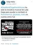 010 Un unico mundo juntos en casa ONU