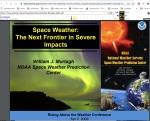 tormentas solares conferencia 2009
