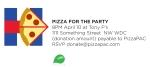 039 Pizza en el comet ping pong de Hillary